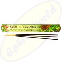 HEM Vanilla Cinnamon indische Räucherstäbchen