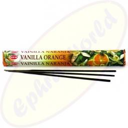 HEM Vanilla Orange indische Räucherstäbchen