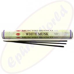 HEM White Musk Räucherstäbchen