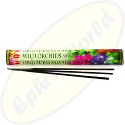 HEM Wild Orchids indische Räucherstäbchen