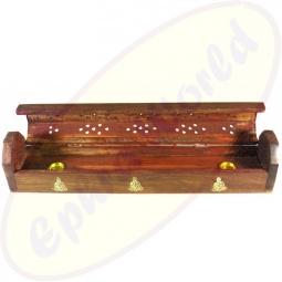 Komfort Räucherstäbchenhalter Box Buddhas