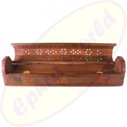 Komfort Räucherstäbchenhalter Box Ganesha offen