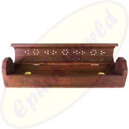 Komfort Räucherstäbchenhalter Box Pentagram offen