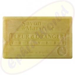 Le Chatelard 1802 Savon de Marseille Pflegeseife 100g Orangenblüten & Grüner Tee