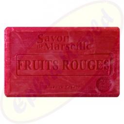 Le Chatelard 1802 Savon de Marseille Pflegeseife 100g Früchte, rot