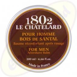 Le Chatelard 1802 For Men After Shave Balsam Sandelholz 200ml