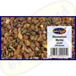 Myrrhe Räucherharz gesiebt Weihrauch 100g