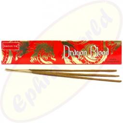 Nandita Dragon Blood indische Premium Masala Räucherstäbchen