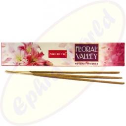 Nandita Floral Valley indische Premium Masala Räucherstäbchen
