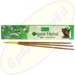 Nandita Organic Herbal Premium Masala Räucherstäbchen