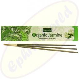 Nandita Organic Jasmine Premium Masala Räucherstäbchen
