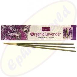 Nandita Organic Lavender Premium Masala Räucherstäbchen