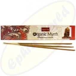 Nandita Organic Myrrh Premium Masala Räucherstäbchen