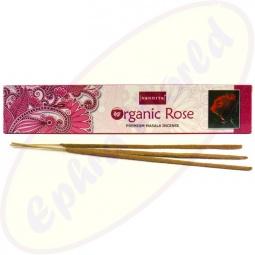 Nandita Organic Rose Premium Masala Räucherstäbchen
