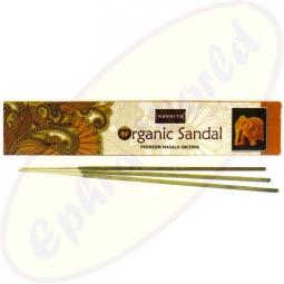 Nandita Organic Sandal Premium Masala Räucherstäbchen