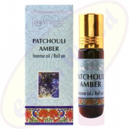 Nandita Patchouli Amber Incense Oil - Parfüm Roll on