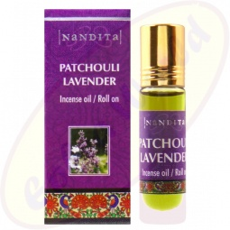 Nandita Patchouli Lavender Incense Oil - Parfüm Roll On
