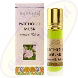 Nandita Patchouli Musk Incense Oil - Parfüm Roll On