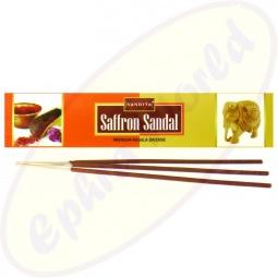 Nandita Saffron Sandal Premium Masala  Räucherstäbchen