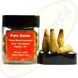 Palo Santo Heiliges Holz Räucherkegel 20er