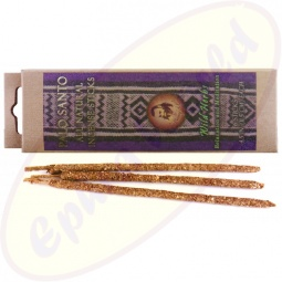 Prabhuji´s Gifts Palo Santo Incense Sticks Wild Herbs