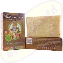 Prabhuji´s Gifts Pflegeseife Natural Calming Oatmeal (Hafer) 100g