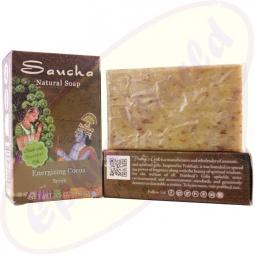 Prabhuji´s Gifts Pflegeseife Natural Energising Cocoa 100g