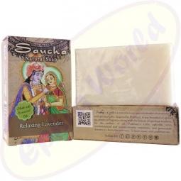 Prabhuji´s Gifts Pflegeseife Natural Relaxing Lavender 100g