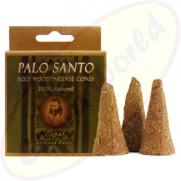 Prabhuji´s Gifts Palo Santo Räucherkegel Copal