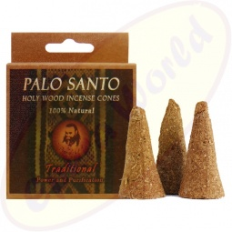 Prabhuji´s Gifts Palo Santo Räucherkegel Traditional