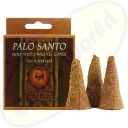 Prabhuji´s Gifts Palo Santo Räucherkegel Traditional