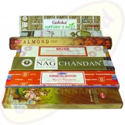 indisches Räucherstäbchen Set  22 - Balsam des Orients