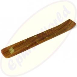 Räucherstäbchenhalter Holz Motiv Elefant