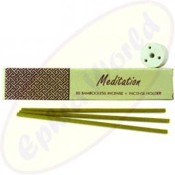 R.Expo Meditation indische Räucherstäbchen ohne Bambus