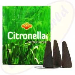 SAC Citronella Räucherkegel