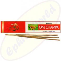 Sandesh Om Champa indische Masala Räucherstäbchen