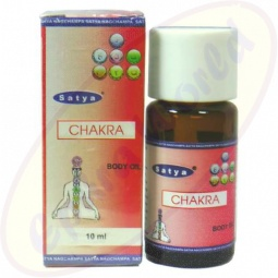 Satya Ayurveda Chakra Body Oil 10ml