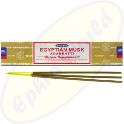 Satya Egyptian Musk indische Flora Räucherstäbchen