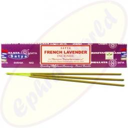 Satya French Lavender Earth indische Masala Räucherstäbchen