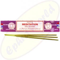 Satya Meditation indische Masala Räucherstäbchen