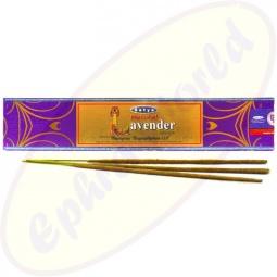 Satya Natural Lavender indische Räucherstäbchen