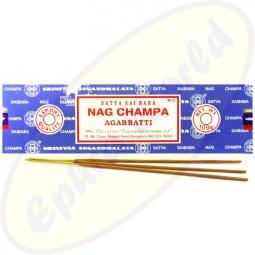 Satya Sai Baba Nag Champa indische Masala Räucherstäbchen 100g (BNG) LLP Big Pack