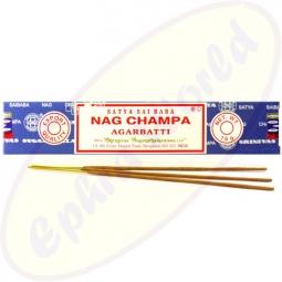 Satya Sai Baba Nag Champa Masala Räucherstäbchen 15g (BNG) LLP, 12er Pack