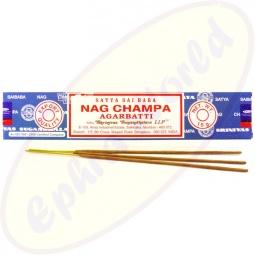 Satya Sai Baba Nag Champa indische Masala Räucherstäbchen 15g