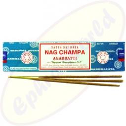 Satya Sai Baba Nag Champa Masala Räucherstäbchen 40g Blau LLP