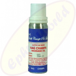 Satya Sai Baba Nag Champa Massage Oil 30ml