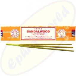 Satya Sandalwood indische Masala Räucherstäbchen