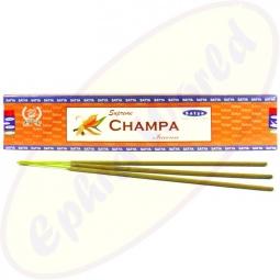 Satya Supreme Champa indische Masala Räucherstäbchen