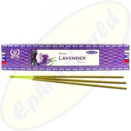 Satya Supreme Lavender indische Masala Räucherstäbchen