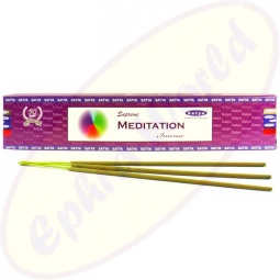 Satya Supreme Meditation indische Masala Räucherstäbchen